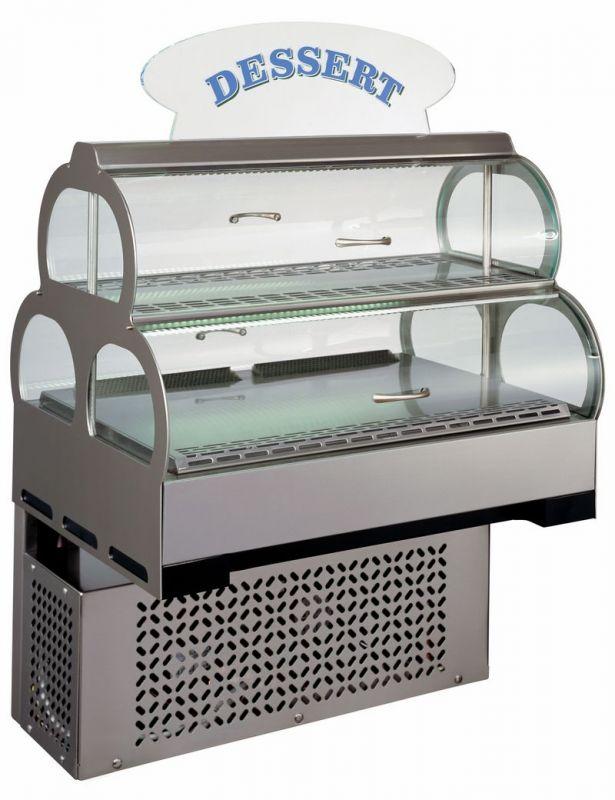 Stolní chlazená vitrína Cold Spot s reklamním panelem ColdSpot+PANEL