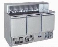 Stůl pizza třídvéřový MPS-1370 - DOPRAVA ZDARMA 6171799 - MPS-1370