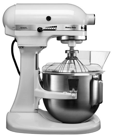 Universální kuchyňský robot KITCHEN AID PROFI HEAVY DUTY KPM-5 bílá - DÁREK + DOPRAVA ZDARMA 5KPM5EWH