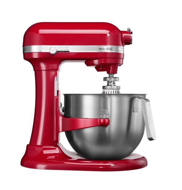 Universální kuchyňský robot KITCHEN AID HEAVY DUTY KSM-7591 královská červená - DÁREK + DOPRAVA ZDARMA 5KSM7591XEER