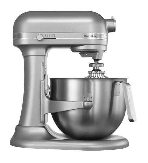 Universální kuchyňský robot KITCHEN AID HEAVY DUTY KSM-7591 matně stříbrná - DÁREK + DOPRAVA ZDARMA 5KSM7591XESM