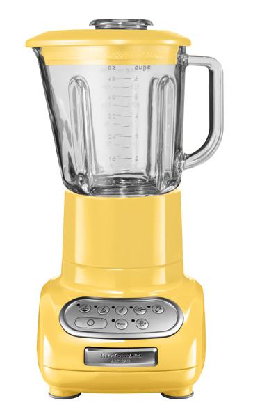Universální kuchyňský mixér KITCHEN AID ARTISAN ULTRA POWER KSB-5553/KSB-555 žlutá - DÁREK + DOPRAVA ZDARMA 5KSB5553EMY