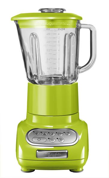 Universální kuchyňský mixér KITCHEN AID ARTISAN ULTRA POWER KSB-5553/KSB-555 zelené jablko - DÁREK + DOPRAVA ZDA 5KSB5553EGA