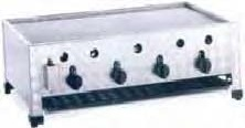 Plynový gril stolní vysokokapacitní GBT4-K GBT4-K