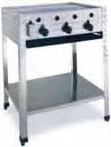 Plynový gril vysokokapacitní GBST3-K GBST3-K