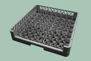 Koš do myčky na talíře, podnosy a GN 500x500mm C-1004