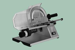 Nářezový stroj - hladký nůž GMS-250 šnekový převod - DÁREK + DOPRAVA ZDARMA GMS-250