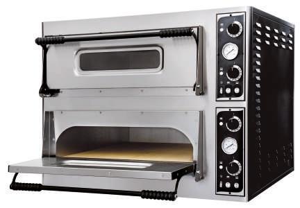 Pec na pizzu dvoupatrová BASIC-44 - DÁREK + DOPRAVA ZDARMA 7330612