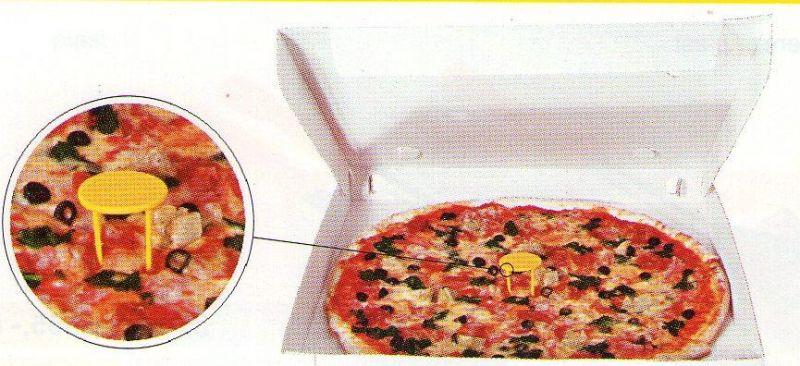 Distanční stojánek na pizzu do krabice 5cm 500ks 1290301
