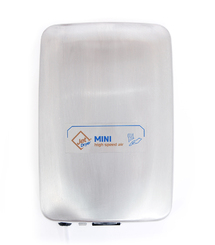 Vysoušeč/osoušeč rukou Jet Dryer Mini - matný chrom - DOPRAVA ZDARMA 005010214